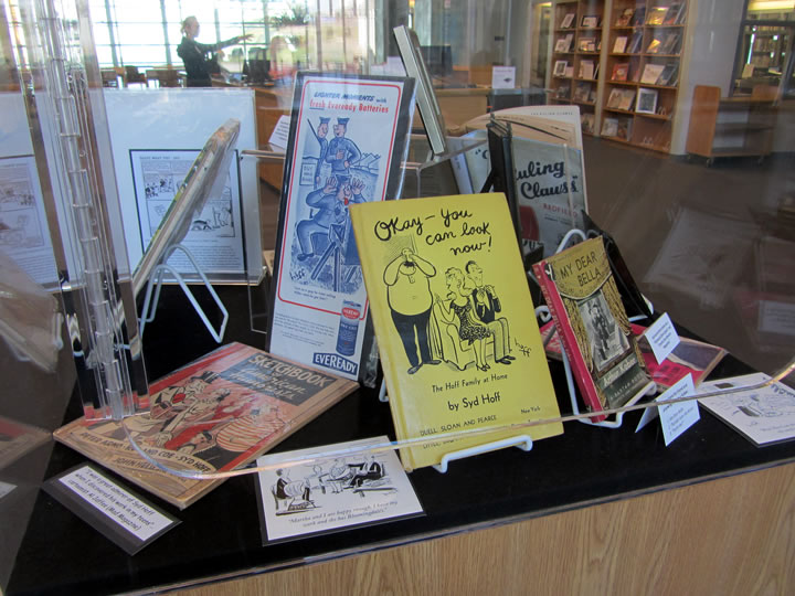 Syd Hoff Book Exhibit at Newport Beach Library
