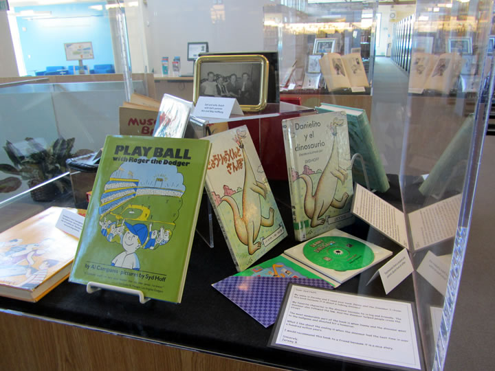 Syd Hoff Book Exhibit- Play Ball