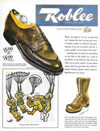 Roblee Shoes Saturday Eevening Post - 1944